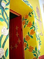 Ajijic floral door