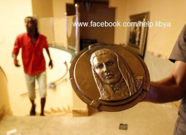 Aisha Gaddafi Mermaid Of Tripoli And Her Gold Off The