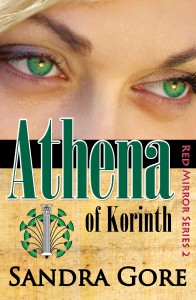 Red Mirror Series Athena of Korinth new Cover for Kindle & iPad