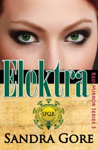 Red Mirror Series Elektra new cover for Kindle & iPad