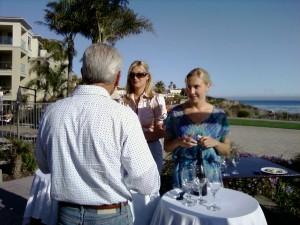 Lido wine servers