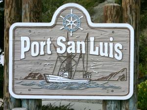Port_San_Luis_Sign